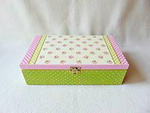 Krabičky - Krabička Na voňavý čaj - 9526122_