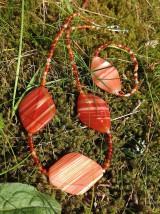 Sady šperkov - Karneol - sada šperkov - 9527294_