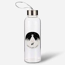 Nádoby - Sklenená fľaša - 9523516_