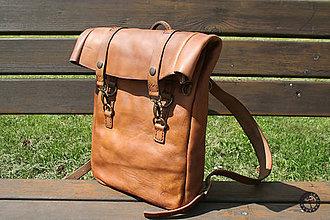 Batohy - Kožený batoh - 9526248_