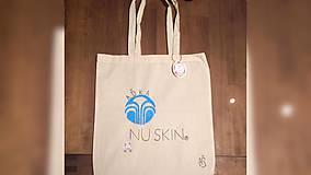 Iné tašky - ♥ Plátená, ručne maľovaná taška ♥ - 9524430_