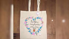 Nákupné tašky - ♥ Plátená, ručne maľovaná taška ♥ (MI26) - 9524472_