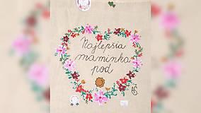 Nákupné tašky - ♥ Plátená, ručne maľovaná taška ♥ (MI24) - 9527584_