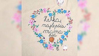 Nákupné tašky - ♥ Plátená, ručne maľovaná taška ♥ (MI26) - 9524475_