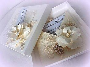 Papiernictvo - Vôňa smotanových ruží... - 9523743_
