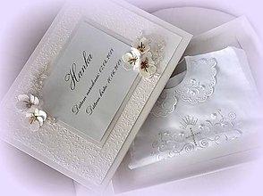 Krabičky - Krabica na krstnú košieľku - 9523778_