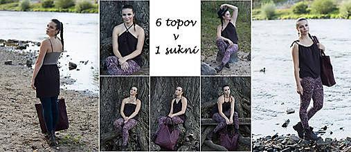 Topy - Multifunkčný top a sukňa v jednom - 9525679_