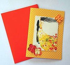 Papiernictvo - Svadobná pohľadnica