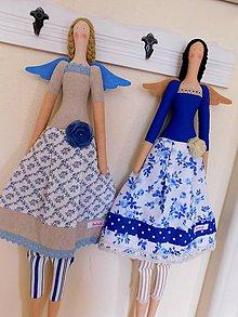 Dekorácie - Girls, don´t be blue:) - 9524108_