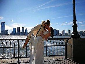 Obuv - vyšívané svadobné tenisky na želanie - 9526611_