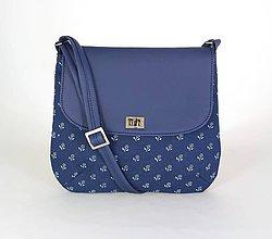 Kabelky - Ria modrá 1 Slovenská kolekcia - 9523660_