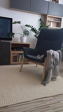 Úžitkový textil - NATURAL koberec - 9526665_
