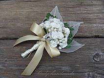 Pierka - Svadobné pierko pre ženícha Nevestin závoj - 9529653_