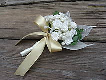 Pierka - Svadobné pierko pre ženícha Nevestin závoj - 9529654_