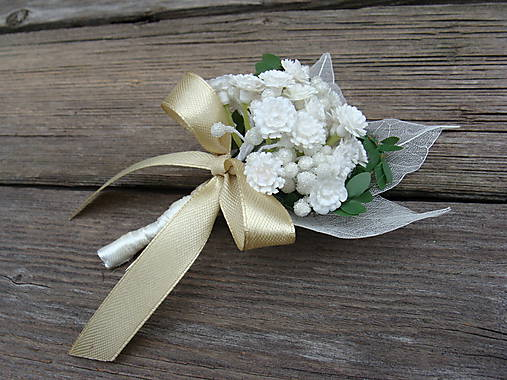Svadobné pierko pre ženícha Nevestin závoj