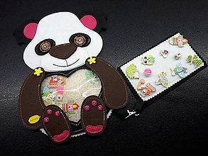 Detské doplnky - Spy bag Panda - 9529304_