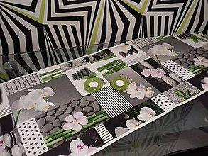 Úžitkový textil - Obrus orchidea - 9529492_