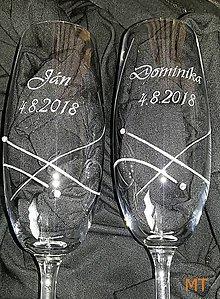 Nádoby - Svadobné poháre - 9527823_