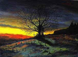Obrazy - Obraz - Podvečerný svet - Reprodukcia - 9528051_