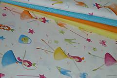 Textil - Látka Princezny na režnej - 9528436_