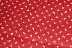 Textil - Látka Babičkine kvietky - 9531408_