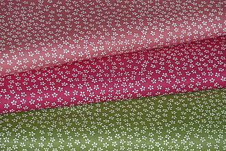 Textil - Látka Mini kvietky - 9531415_