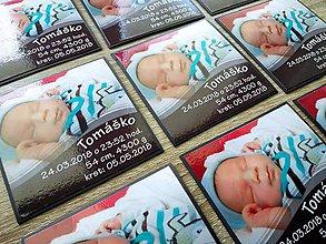 Magnetky - magnetka s fotkou dieťaťa - 9531022_