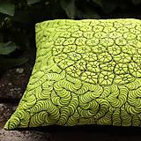 Polštář zelenočerný