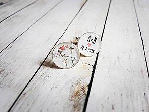 Šperky - Manžetové gombíky na objednávku - 9531431_