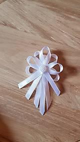 Pierka - biele pierka pre rodičov, svedkov - 9530719_