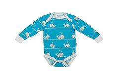 Detské oblečenie - Rostoucí body 100% merino vč.extendoru - 9528285_