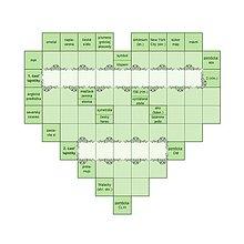Grafika - Elegantná čipkovaná krížovka - zelená - 9529221_
