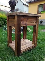 """Nábytok - Skrinka pod umývadlo 2 """" staré drevo """" - 9528795_"""