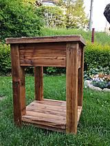 """Nábytok - Skrinka pod umývadlo 2 """" staré drevo """" - 9528800_"""