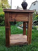 """Nábytok - Skrinka pod umývadlo 2 """" staré drevo """" - 9528801_"""