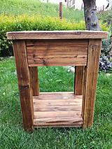 """Nábytok - Skrinka pod umývadlo 2 """" staré drevo """" - 9528826_"""