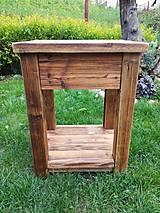 """Nábytok - Skrinka pod umývadlo 2 """" staré drevo """" - 9528830_"""