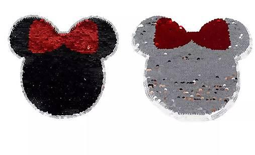 Nášivka reversible Minnie s mašľou