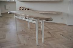 - Trojuholníkový konferenčný stolík (Chcem stolík NA MIERU, OBSAH DOSKY: 0,7 m² - 0,8 m² (pri objednávke v poznámke pre predajcu prosím špecifikujte rozmery, tvar a prevedenie nožičiek)) - 9530832_