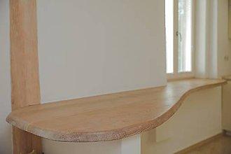 Nábytok - Stôl na barovom pulte kompaktný s parapetom - 9531071_