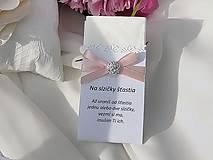 Svadobné vreckovky (Ružová)