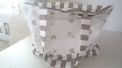 Veľké tašky - Plážová taška - 9531662_