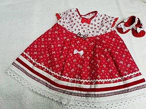 Detské oblečenie - letné šatočky+balerínky v74 - 9534258_
