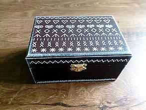 Krabičky - Folk krabička - 9531854_
