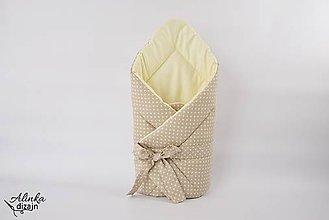 Textil - Zavinovačka béžovo-smotanová - 9531806_