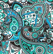 Textil - Látka s potlačou nepremokavý polyester kočárkovina TD/NS vzor 114 - STREDNÝ - 9533857_