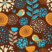 Textil - Látka s potlačou nepremokavý polyester kočárkovina TD NS vzor 409  stredný - 9534029  61616a7fd70