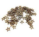 Výrez drevený hviezdička 1 cm