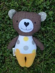 Hračky - Medvedík žltý - 9534684_