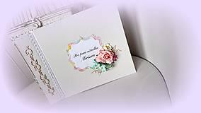 Papiernictvo - Album pre pani učiteľku - 9534190_